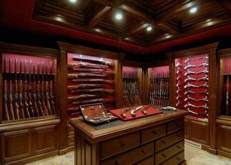 40 awesome entertainment center ideas you ll fall in love top 100 best gun room designs armories you ll want to