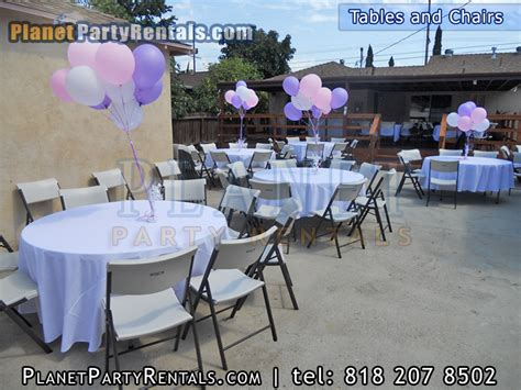 rentals tables chairs chafing dishes tablecloths linen