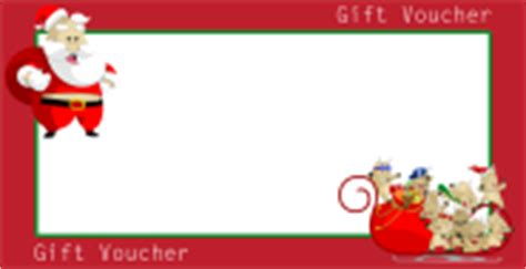 free christmas gift voucher cards customize and print
