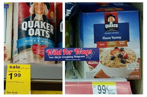 quaker oats deals
