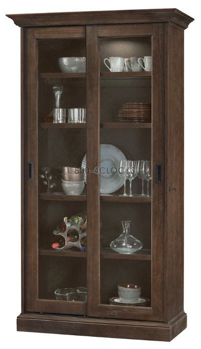 howard miller collector cabinet howard miller meishaaged umber collectors cabinet floor at