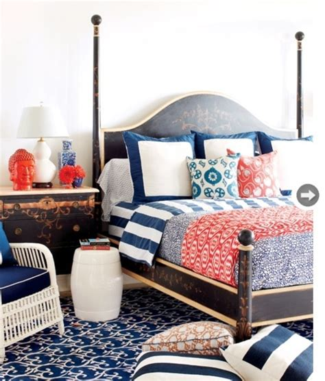red and blue bedroom bedroom 2 red white and blue home decor and interiors