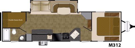 heartland rv floor plans 2017 heartland mallard m312 cing world of conway