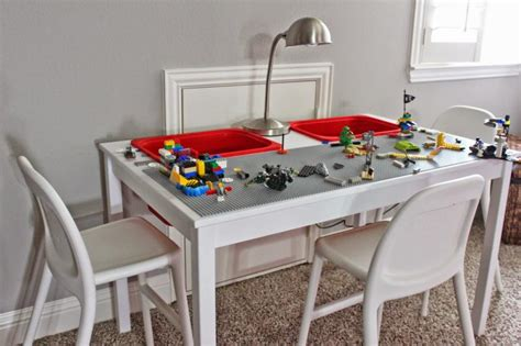 Lego Wall Sticker lego ikea table hack fun crafts kids