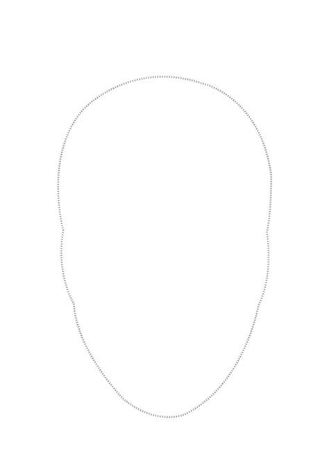 printable blank face mask template masks