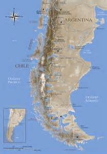 patagonia map south america map of patagonia chile fly fishing area and lodge