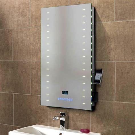 lovely Bathroom Mirror And Light Ideas #5: led-bathroom-mirrors-with-shaver-socket-and-clock-1.jpg
