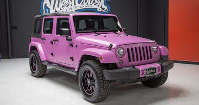 » photo 1 of pink jeep for sale