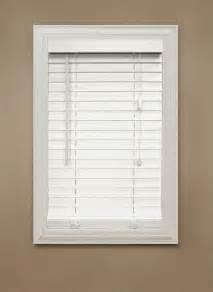 2 inch faux wood blinds white home decorators collection white 2 inch faux wood blind