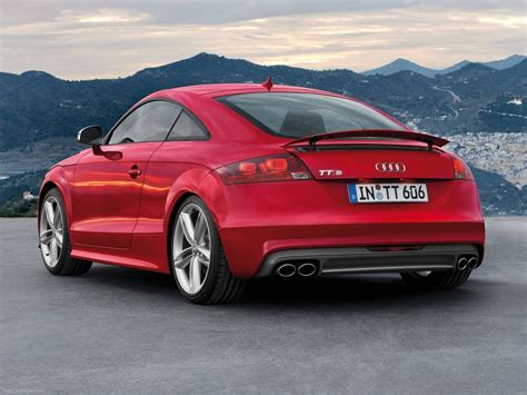 audi tts coupe picture    rear angle