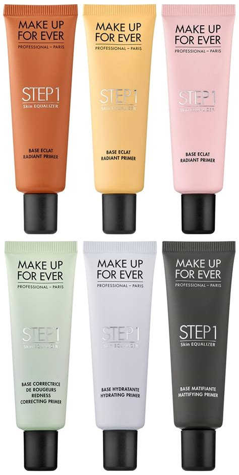 Makeup Forever Step 1 make up for launches step 1 skin equalizer and cosmetics