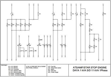 cara membaca wiring diagram panel listrik jeffdoedesign