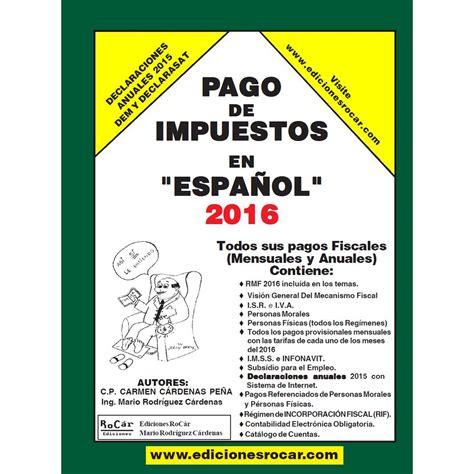 pago de referendum 2016 pago de impuestos en espa 241 ol 2016