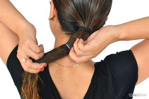 Catokan Rambut Biar Lurus cara meluruskan rambut secara alami
