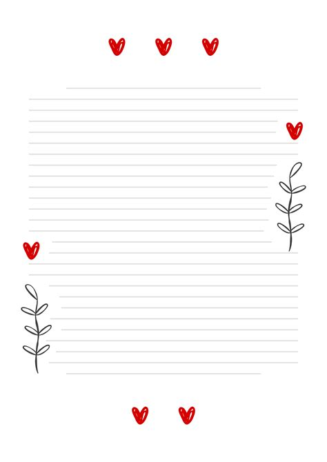 carta da lettere cuore da scaricare gratis toghigi paper