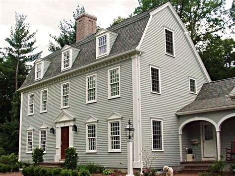 Saltbox Colonial the gambrel colonial exterior trim and siding the