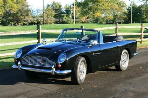Aston Martin Convertible For Sale by Aston Martin Db5 For Sale Hemmings Motor News