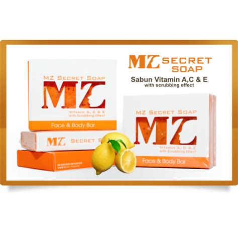 Sabun Secret zizi ezzeta mad mz secret soap sabun vitamin ac e