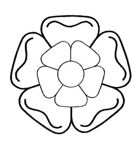 tudor rose coloring page how to draw tudor rose colouring pages page 2