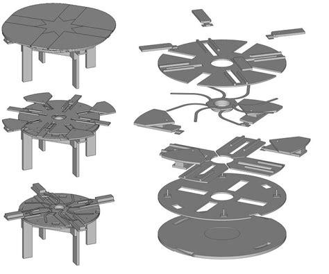 expanding table plans build your own expanding table plans composite diy