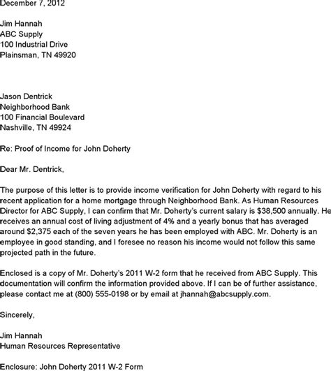 proof of income letter from employer homejobplacements org
