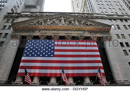 the new york stock exchange is decorated for the initial