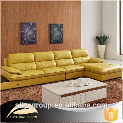 as112 orange leather sectional sofa yellow leather sofa