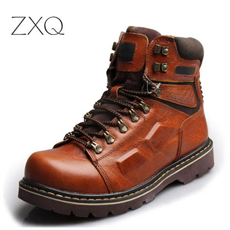 best leather boots mens best mens leather boots tsaa heel