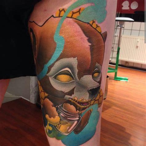 tattoo new school bear evil teddy bear tattoo best tattoo ideas gallery