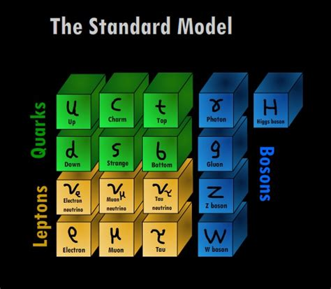 standard model introduction to particle physics part 3 order from chaos