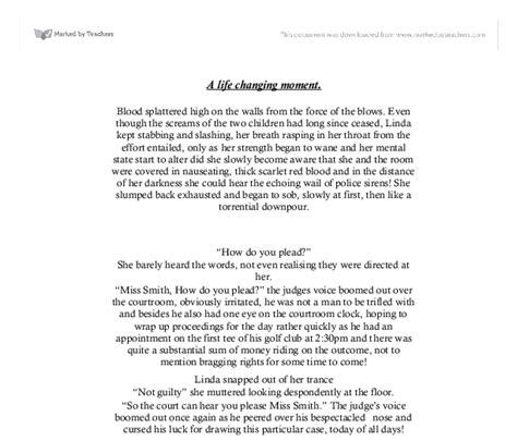 Changing Moment Essay by Changing Moment Essay