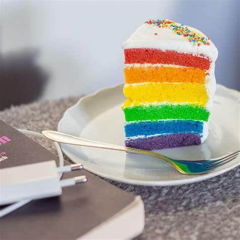 farben kuchen vegan rainbow cake veganer regenbogen kuchen cake