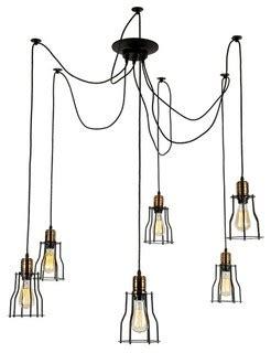 da vinci chandelier da vinci 6 light chandelier iron industrial