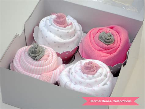 Baby Shower Onesie Cupcakes by Renee Celebrations Onesie Cupcakes Tutorial