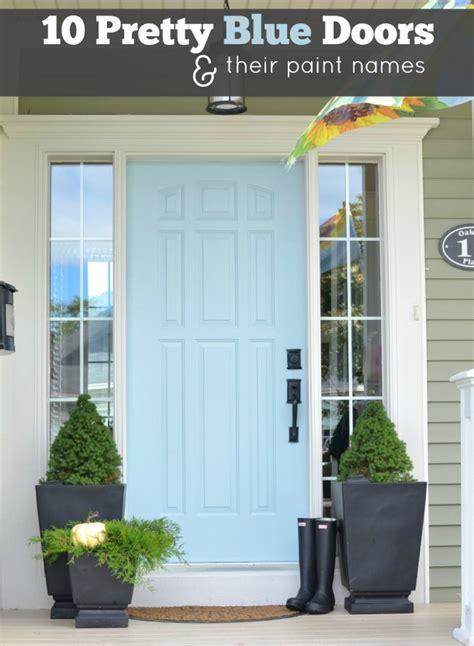 home decor blog names door color ideas 10 pretty blue doors a pop of pretty