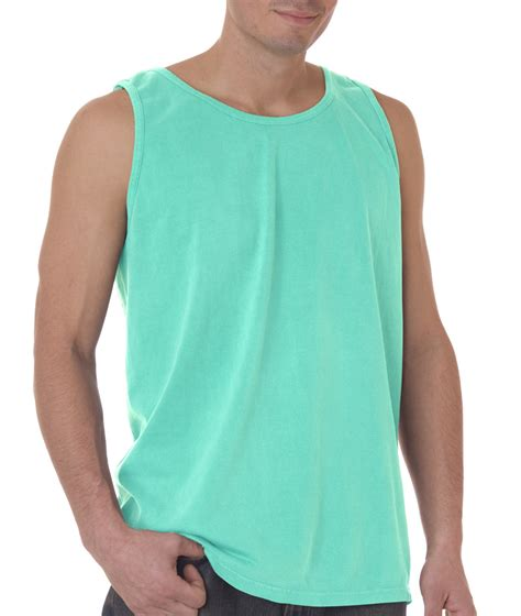 comfort colors tank top chouinard comfort colors men s solid 9360 tank top 100
