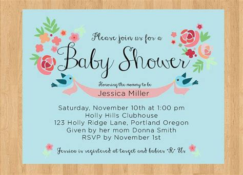 Do It Yourself Baby Shower Invitations by Do It Yourself Baby Shower Invitations Baby Shower