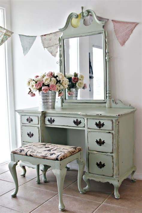 shabby chic makeup vanity table 25 best ideas about shabby chic vanity on