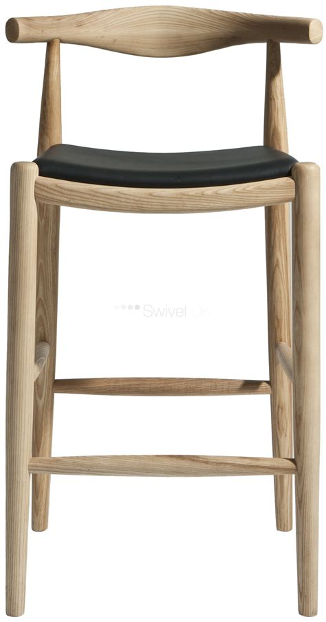 Stool Pad by Hans Wegner Style Barstool Leather Pad Style