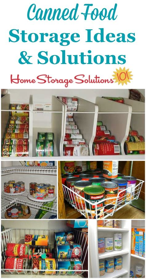 Kitchen Storage For Canned Goods by Can Storage Ideas Solutions How To Organize Canned Food