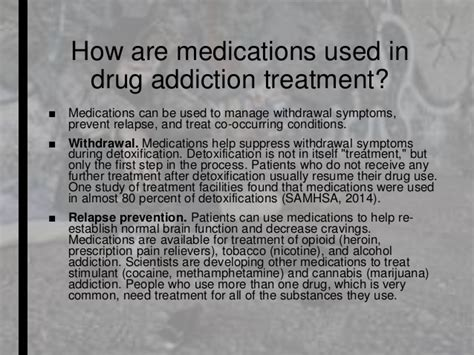 Meds Used To Reduce Detox by D Ru G Addiction