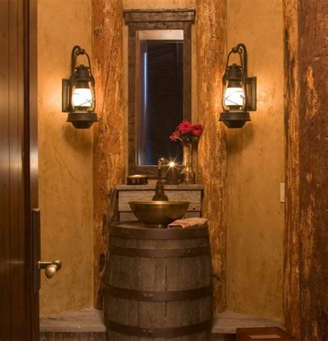 Rustic Bathroom Lighting Ideas Brilliant 40 Bathroom Chandeliers Rustic Inspiration Of 23 Fantastic Rustic Bathroom Design