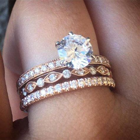Best Wedding Ring Stack Ideas for Summer   Raymond Lee