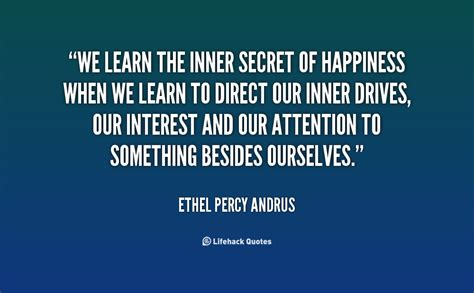 secret by we the ethel percy andrus quotes quotesgram