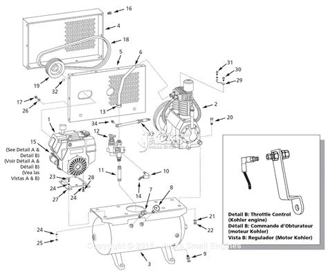 cbell hausfeld ci12g030hp parts diagram for air compressor parts