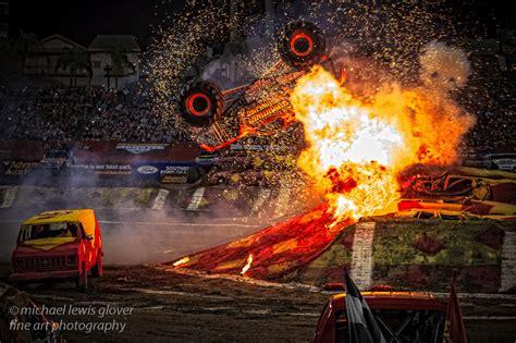 monster truck backflip videos monster jam michael lewis glover fine art photography