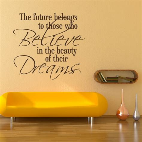 Inspirational Quotes Wall Stickers wall decals quotes quotesgram