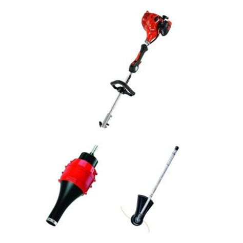 echo pas 17 in 21 2 cc gas trimmer with blower attachment
