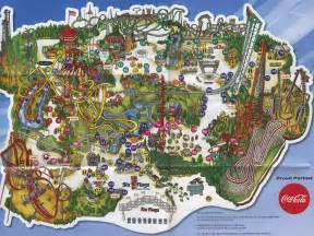 six flags california map related keywords suggestions for magic mountain california