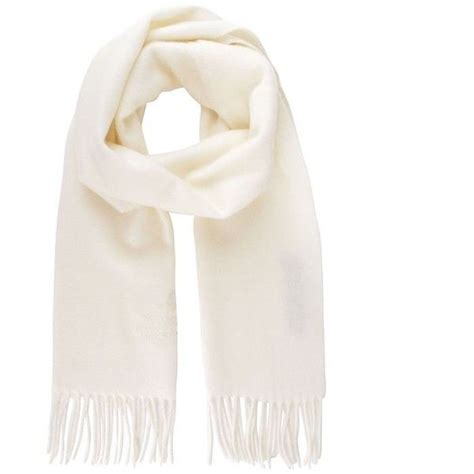 knitted white scarf 25 best white scarves ideas on